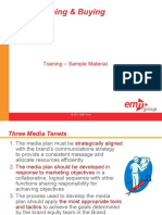 CME 108 Media Planning and Buying Course Sample Materials Alm