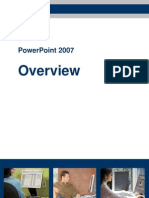 Power Point 2007 Overview