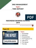 0_3. Time Deposit