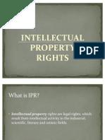 Presentation on Ipr