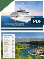 Princess Cruises Schweiz - Routenübersicht Januar 2011 bis April 2012