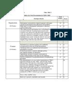 Presentation Assessment Rubric EDUC3029_Emma, Lauren & Sajani.pdf
