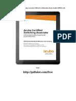 aruba sertificate guide studies