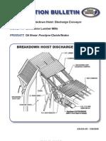 AB 02A 05 Breakdown Hoist Discharge Conveyor