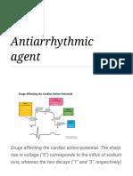 Antiarrhythmic agent - Wikipedia