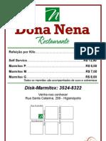 Panfleto Dona Nena