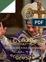 Meditações para a Quaresma - Papa Emérito Bento XVI.pdf