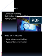 Cyber Crime Computer Hacking