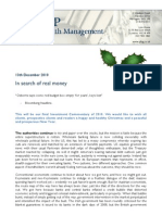 In Search of Real Money
