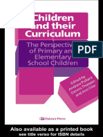 Ann Filer, Andrew Pollard, Dennis Thiessen - Children And Their Curriculum_ The Perspectives Of Primary And Elementary School Children-Routledge (1996).pdf