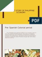 A Short story of Philippine Economy
