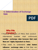 4. Determination of Exchange rate-converted