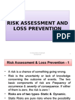 Risk Assessment and Loss Prevention PART-II