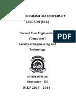 2013-14 SE Computer syllabus