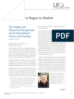 Origins of LIFO Training