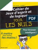 Le.cahier.de.Jeux.D'Esprit.et.de.logique.pour.Les.nuls.Shared.by.Buzz80