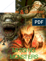 Missing Monsters 1.0