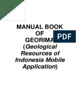 Manual Book GeoRIMA