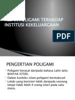 Kesan Poligami Terhadap Intitusi Kekeluargaan