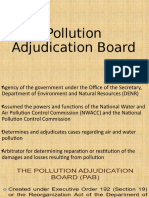 Final Report on Pollution