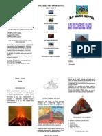 trabajo volcanes
