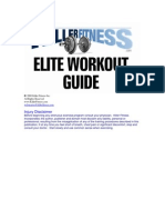 The Killer Fitness Elite Workout