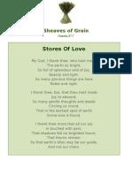 Stores Of Love - Sheaves of Grain - 59