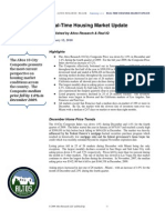 Altos Research Real-Time Housing Report - January 2010