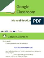Google Classroom - Manual Aluno