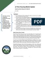 Altos Research Real-Time Housing Report - April 2010