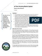Altos Research Real-Time Housing Report - June 2010
