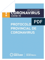Protocolo Coronavirus para medios