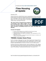 Altos Research Real-Time Housing Report - November 2010