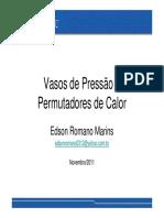Vasos de Pressão e Permutadores de Calor_Edson  Romano_Nov2011.pdf
