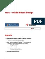MBD Model Based Design - March 2009