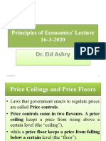 Principles of Economics' Lecture