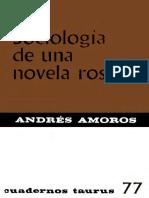 AMOROS Andres - Sociologia de una novela rosa.pdf