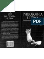 Osho - Philosophia Ultima
