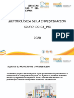 PRESENTACION CF METODOLOGIA DE LA INVESTIGACION
