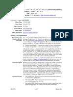 UT Dallas Syllabus for ed4372.0i4.11s taught by Rebekah Nix (rnix)