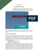 CAPITULO VIII Desarrollo Sostenible