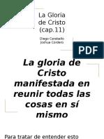 La Gloria de Cristo (cap.11).pptx