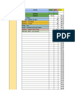 Modelo de libro diario de contabilidad de uso diario