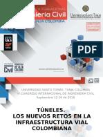 Túneles. Los nuevos retos en la infraestructura vial colombiana