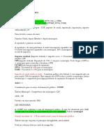 DIREITO TRIBUTÁRIO - Revisão 2020