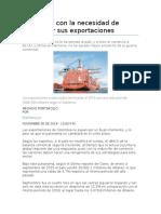 Lectura incial comercio internacional en Colombia