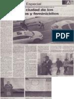 Arequipa, la ciudad de los hurtos, robos y feminicidios