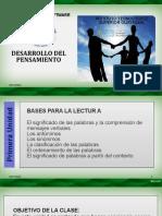 SESIÓN 9 ORGANIZACION DEL PENSAMIENTO