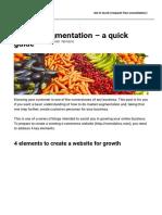 Market segmentation - a quick guide - Comalytics (PTY) Ltd
