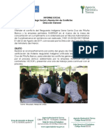 Agencia Nacional de Tierras - resguardo Santa Cruz de Piñuña Blanco